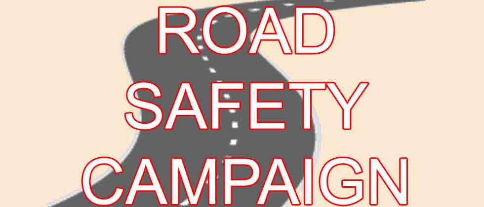 Students start road safety campaign