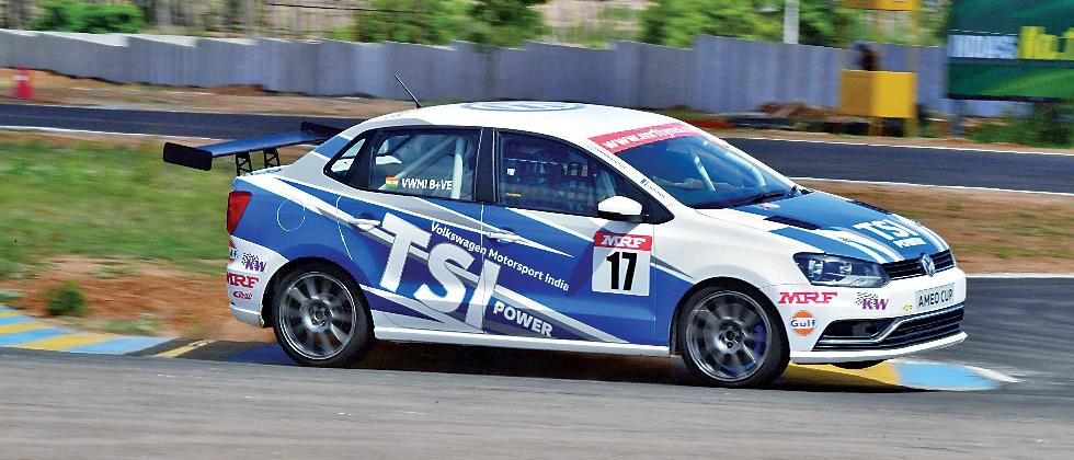 Twenty drivers from over 500 were short-listed for the VW Ameo Cup.
