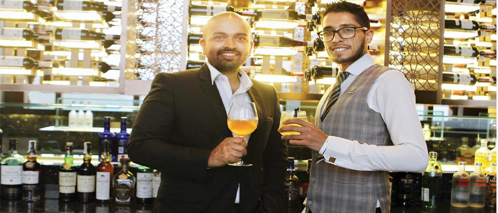 Ajit Balgi (left) and Rohan Rege