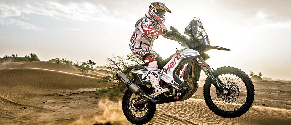 The Hero MotoSports Team rider Joaquim Rodrigues.