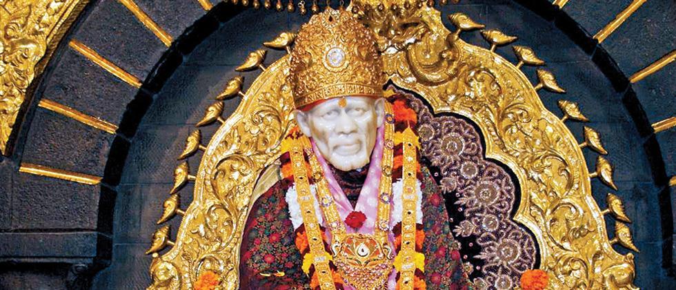 Devotee donates Rs 39 lakh gold lamp to Shirdi's Sai temple