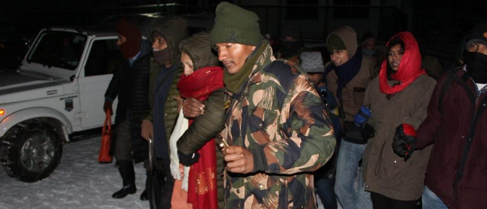 Army rescues over 2,500 stranded tourists in Sikkim
