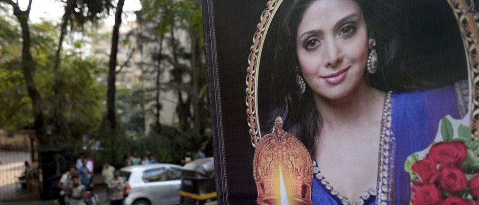 Sridevi's body arrives in Mumbai, funeral scheduled for Wednesday afternoon