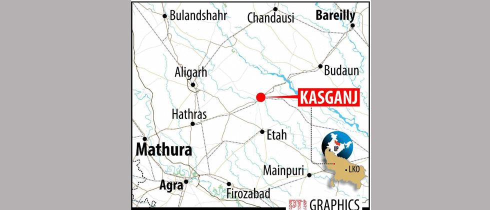 Main accused in Kasganj violence held