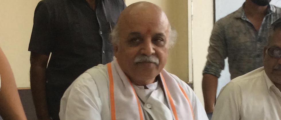 Modi has gone back on Ram temple, Art 370 promise: Togadia