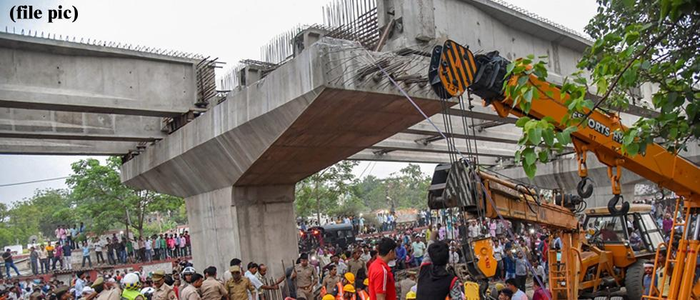 Varanasi flyover collapse: 7 engineers, contractor arrested