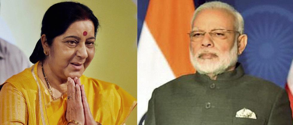 Swaraj giving human face to diplomacy through social media: PM