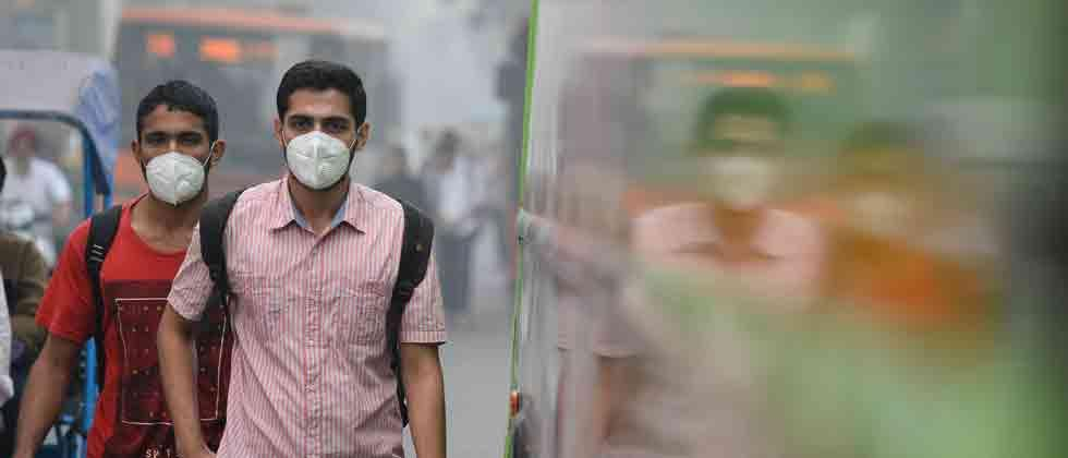 Around 12.4 lakh deaths in India in 2017 attributable to air pollution