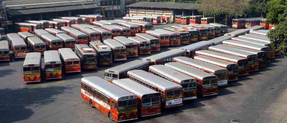 Mumbai bus strike enters 6th day, staff attendance negligible