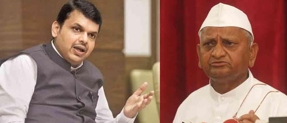 Maha CM, Union ministers meet Hazare: ask him to call off fast
