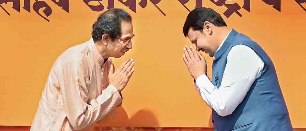 Sena & BJP talk tough ahead of alliance talks