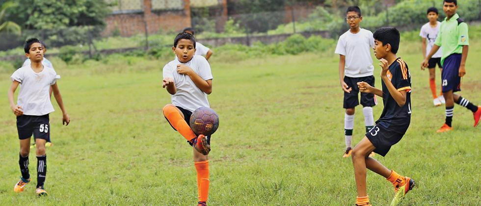 Raj's goal gives Kalmadi School victory