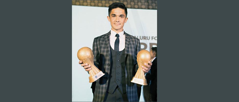 Sunil Chhetri named Players' Player
