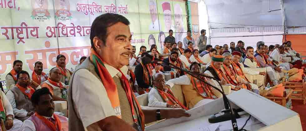 NCP targets BJP, Cong attacks Gadkari over minister's remarks
