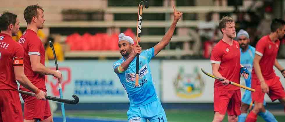 India thrash Canada 7-3, put on foot in final of Azlan Shah hockey tournament