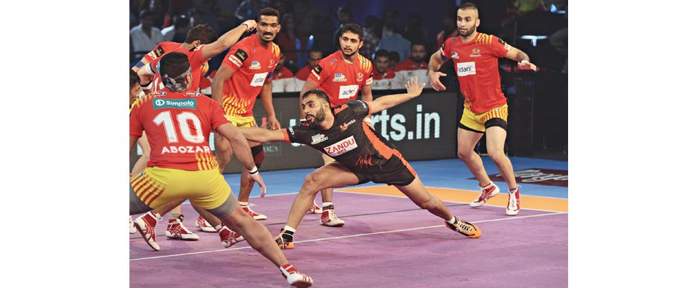 Gujarat delivers nasty blow to U Mumba