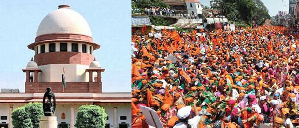 SC seeks Maharashtra govt's response on pleas challenging HC order upholding reservation to Marathas