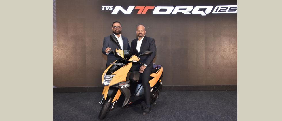 TVS NTORQ 125 launch in Pune