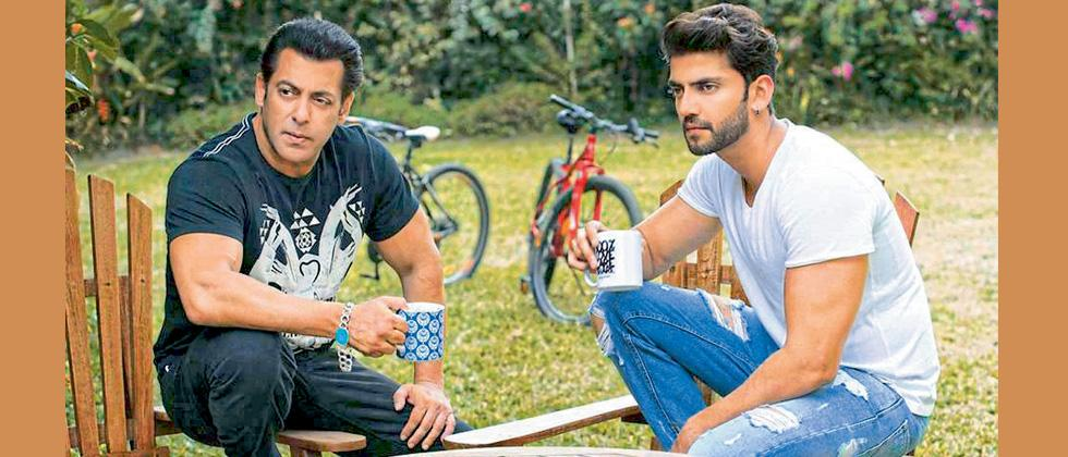 Salman Khan introduces another fresh face - Zaheer Iqbal