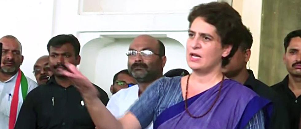 Acknowledging one's duty is good: Priyanka on Adityanath's Sonbhadra visit