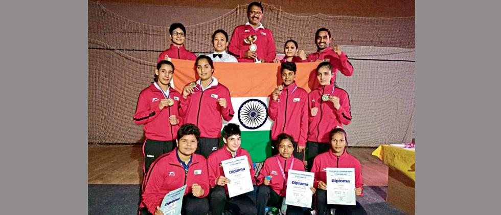 Indias youth women pugilists bag 3 golds