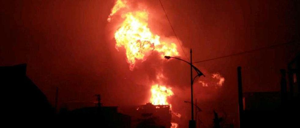 Blast, fire in Maharashtra chemical plant