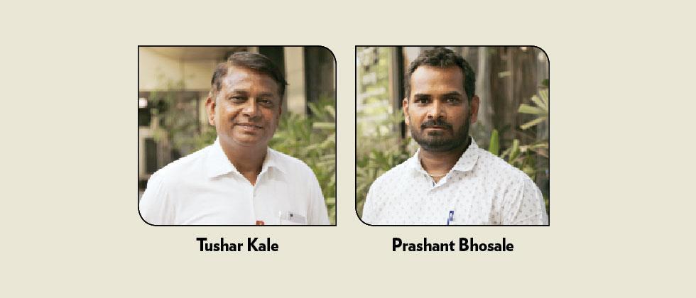 Tushar Kale and Prashant Bhosale