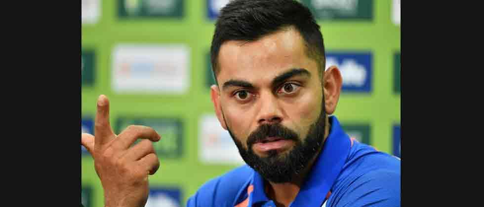 Kohli named Wisden's leading cricketer in the world