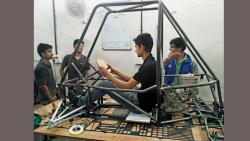 Nemesis racing all set for its journey to America