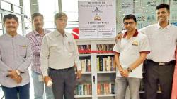 Now, read books for free at Pune Airport