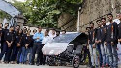 CoEP students ready with eco-friendly Trike