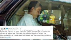 BJP believes in hidding the truth: Rahul Gandhi