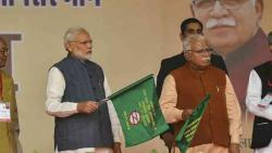PM inaugurates KMP expressway, Ballabhgarh-Mujesar Metro rail link