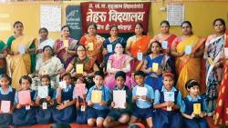 Teachers help Std IV students write 20 story books