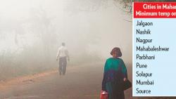 City weather turns chillier, Jalgaon coldest city in Maharashtra