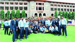 The students of MBA and PGDM  from Suryadatta Institute of Management and Mass Communication recently visited NDA for a study tour.