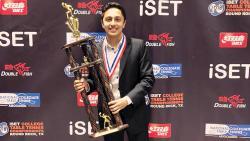 Dani helps New York University to clinch iSET College Nat'l TT c'ship