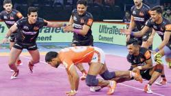 Puneri Paltan near yet far as Telugu Titans steal win