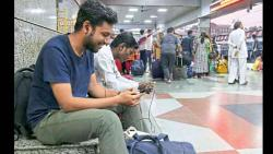 Passengers Consume 60tb data every month at Pune Junction