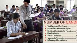 Over 16L candidates appear for CTET 2018