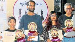 Biswajit Nayak wins Yogesh Kakare chess