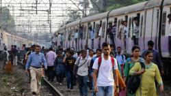 Students block railway tracks in Mumbai, demand jobs