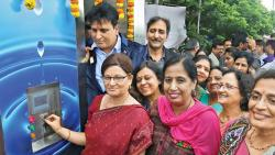 First e-toilet for women inaugurated in city
