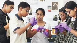 IISER-Pune researchers provide insights into bacterial DNA isolation to students