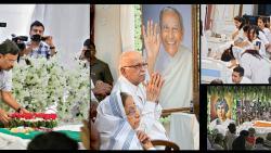 Political leaders, personalities throng to bid adieu to Dada
