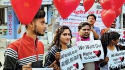 Right to Love holds a rally emphasising love over hate