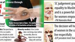 Supreme Court bans instant Triple Talaq