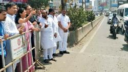 Supriya Sule inspects traffic situation in Hinjawadi