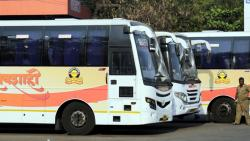 Passengers prefer private bus service to Shivshahi