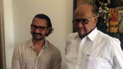 Aamir Khan meets Sharad Pawar
